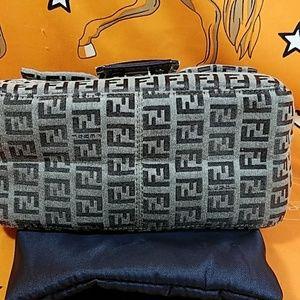 89989cd457 ... australia fendi bags authentic fendi ff monogram canvas satchel bag  0d869 f0252 ...